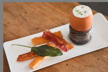 Maple Bacon Eggs - Chef Brian Lewis