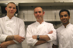 The Chef Team at Torekov Hotell, Torekov, Sweden