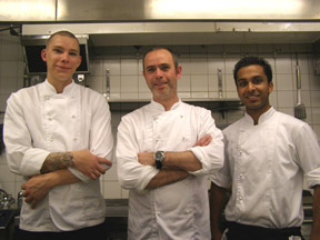 The Chef Team at The Restaurant at Torekov Hotell, Torekov, Sweden