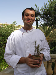 Executieve Sous Chef Francesco Colore of Trattoria San Lawrenz, Gozo, Malta