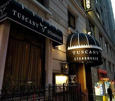 Tuscany Steakhouse - NY, NY, USA