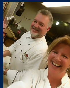 Chef Bryant Alden and Patti Alden