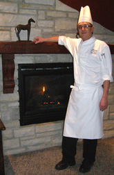 Chef Daniel Tobien of Windigo Restaurant at the Fairmont Tremblant, Mont-Tremblant, Canada