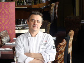 Chef Philippe Lavaud of Restaurant Yamada, Mont-Tremblant, Canada
