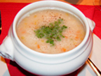 Bundner Gerstensuppe at Pr�tschli-Stall, Arosa, Switzerland