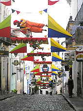 Carnival Decorations in Salvador
