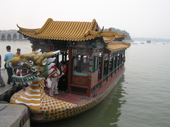 Beijing, China - Summer Palace - Dragon Boat
