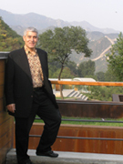 Beijing, China - Great Wall - terrace of Commune by The Great Wall