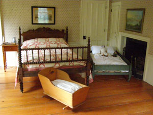 Bedroom - Arrowhead, Herman Melville House, Pittsfield, Massachusetts, USA - Photo by Luxury Experience