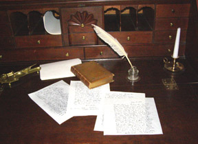 Desk - Arrowhead, Herman Melville House, Pittsfield, Massachusetts, USA - Photo by Luxury Experience