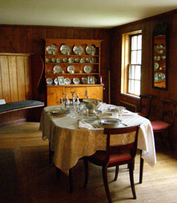 Dining Room - Arrowhead, Herman Melville House, Pittsfield, Massachusetts, USA - Photo by Luxury Experience