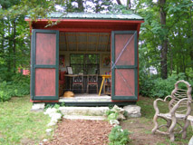 Decorative Sheds - Berkshire Botanical Gardens, Stockbridge, Massachusetts, USA - Photo by Luxury Experience