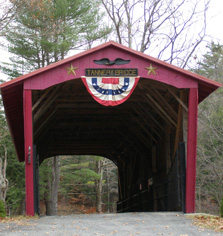 Covered Bridge, The Berkshires, Massachusetts- Photo by Luxury Experience