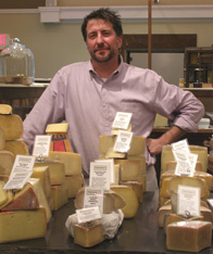 Matthew Rubiner of Rubiner's Cheesemongers and Grocers, Great Barrington, Massachusetts- Photo by Luxury Experience