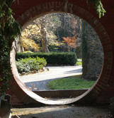 Moon Gate at Naumkeag, Stockbridge, Massachusetts- Photo by Luxury Experience