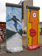 Berlin Wall Pieces as Art