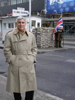 Edward F. Nesta at Checkpoint Charlie