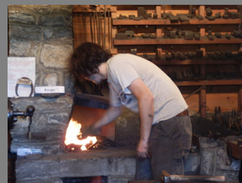 Blacksmith Demonstration - Booth Memorial Park & Museum- Stratford, CT, USA - photo by Luxury Experience