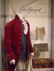 John Hancock Items - Old State House Musuem