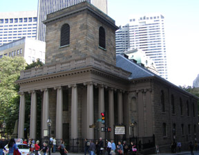King's Chapel - Boston, USA