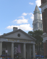 Quincy Market and the Custom House
