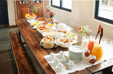 Breakfast Pousada Pequi - photo by Luxury Experience
