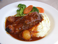 Braised Short Ribs - Logan Inn, Bucks County Pennsylvania, USA - Photo By Luxury Experience