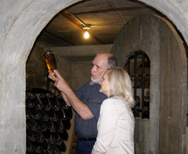Jerry Forest and Debra Argen - Buckingham Valley Vineyards, Bucks County Pennsylvania, USA - Photo by Luxury Experience