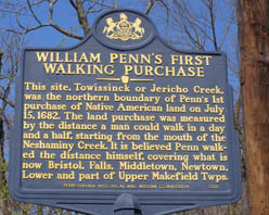 William Penn's First Walking Purchase - Photo by Luxury Experience
