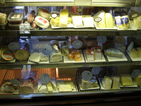 Haight-Brown Vineyard, Litchfield, Connecticut, USA - Cheese Selection - Photo by Luxury Experience