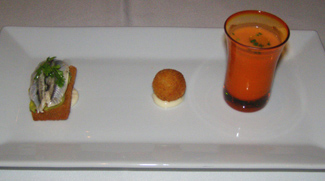 Ibiza Restaurant, New Haven, Connecticut, USA - Amuse Bouche - Photo by Luxury Experience