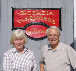 DiGrazia Vineyards, Brookfield, Connecticut, USA - Mrs. and Dr. DiGrazia - Photo by Luxury Experience