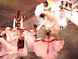 Dancers at Xcaret