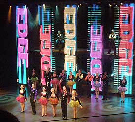 Edge Show at the Eclipse Theatre on  Celebrity Cruises Eclipse - photo by Luxury Experience