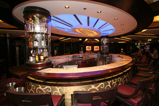 Ensemble Lounge on the Celebrity Cruises Solstice Class Eclipse