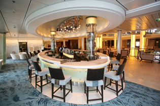 Martini Bar on the Celebrity Cruises Solstice Class Eclipse