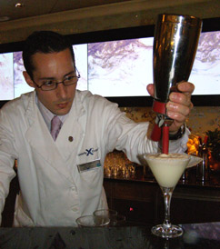 Molecular Bar Chef on Celebrity Cruises Eclipse - photo by Luxury Experience
