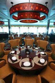 Tuscan Grille on the Celebrity Cruises Solstice Class Eclipse