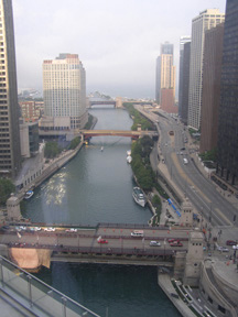 View from Trump International Hotel & Tower Chicago