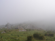 Heavy Mist along Moll's Gap