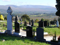 Kenmare Old Burial Grounds, Sheen Falls Lodge, Kenmare, Ireland
