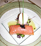 Sheen Falls Lodge, Kenmare, County Kerry, Ireland - Salmon