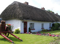 Thatched Cottage in Adare, Ireland