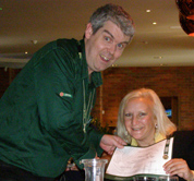 Debra C. Argen Receives Certificate at Jameson Distillery, Dublin, Ireland
