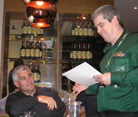 Edward F. Nesta Receiving Certificate at Jameson Distillery, Dublin, Ireland