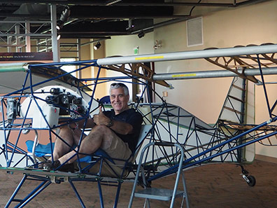 Glider Plane, Edward F. Nesta - McAuliffe-Shepard Discovery - Concord, NH - photo by Luxury Experience
