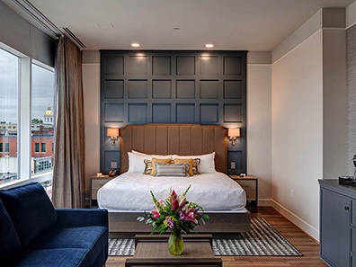 Junor Suite - The Concord Hotel - Concord, NH
