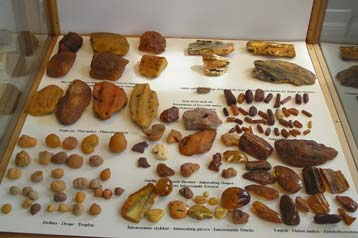 The Amber Museum in Copenhagen, Denmark