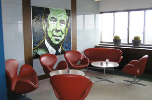 Radisson SAS Royal Hotel - The Lounge Area at Alberto K