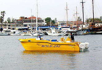 Jon Peach's Boat for hotel guests